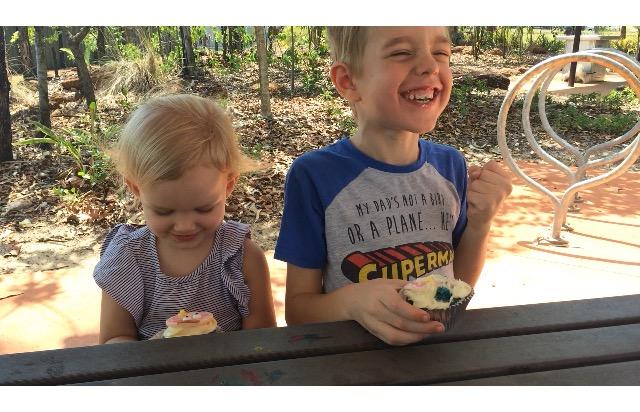 Kid's cupcake fun